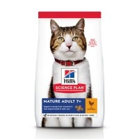 Croquettes pour chat de plus de 7 ans - Hill's Science Plan Mature Adult 7+ Mature Adult 7+