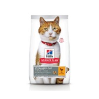 Croquettes pour chat stérilisé de 6 mois à 6 ans - Hill's Science Plan Sterilised Cat Young Adult Poulet Sterilised Cat Young Adult - Poulet