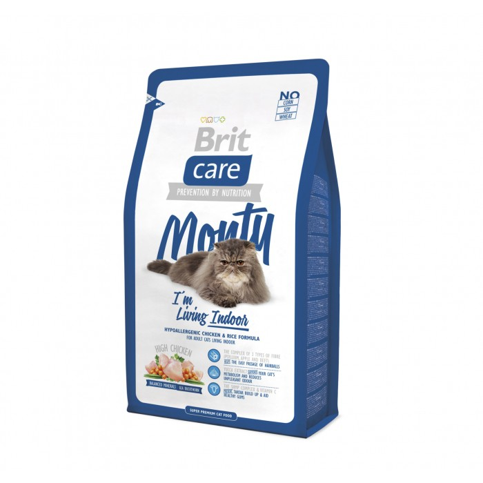 Alimentation pour chat - Brit Care Monty I'm living Indoor pour chats