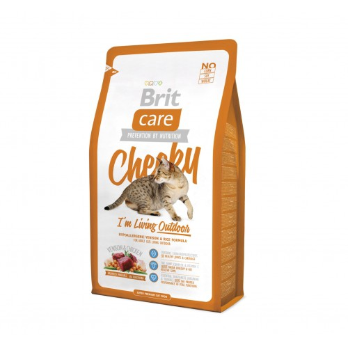Alimentation pour chat - Brit Care Cheeky I'm living Outdoor pour chats