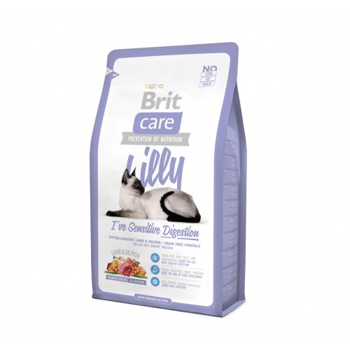 Alimentation pour chat - Brit Care Lilly I've Sensitive Digestion pour chats