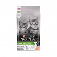 Croquettes pour chat - Proplan Sterilised Kitten OptiStart Sterilised Kitten OptiStart Saumon