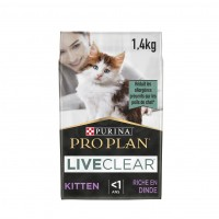 pour chat - Proplan LiveClear Kitten Dinde