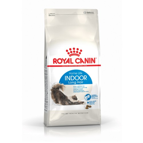Alimentation pour chat - Royal Canin Indoor Long Hair pour chats