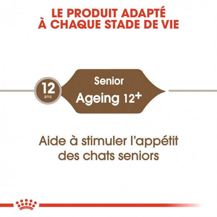Alimentation pour chat - Royal Canin Ageing 12+ pour chats