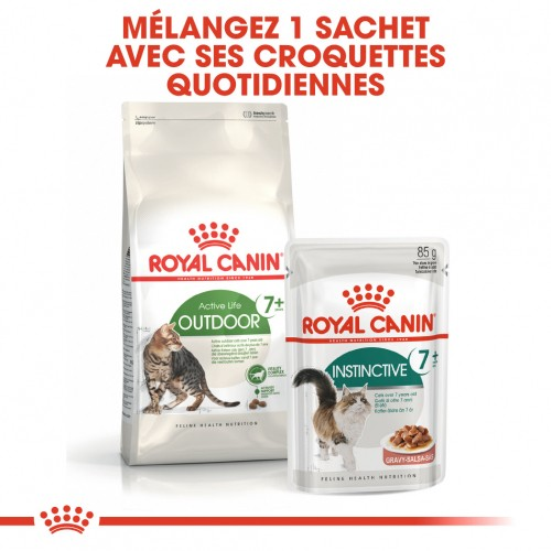 Alimentation pour chat - Royal Canin Outdoor 7+ pour chats