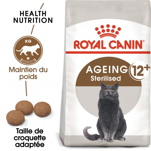 Alimentation pour chat - Royal Canin Ageing Sterilised 12+ pour chats