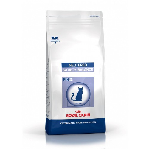 Alimentation pour chat - Royal Canin Vet Care Neutered Satiety Balance pour chats