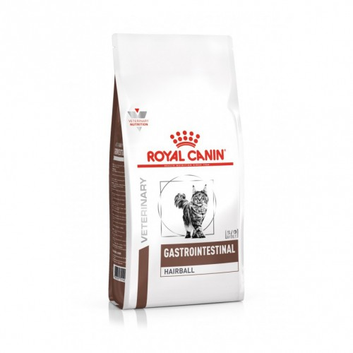 Alimentation pour chat - Royal Canin Veterinary Gastrointestinal Hairball  pour chats