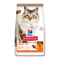 Croquettes pour chat de 1 à 6 ans - Hill's Science Plan No Grain Adult No Grain Adult
