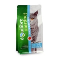 Croquettes pour chat - EQUILIBRE & INSTINCT Adulte Poisson Adulte Poisson