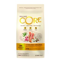Croquettes pour chat - Wellness CORE Sterilised - Poulet et Dinde Sterilised - Poulet et Dinde