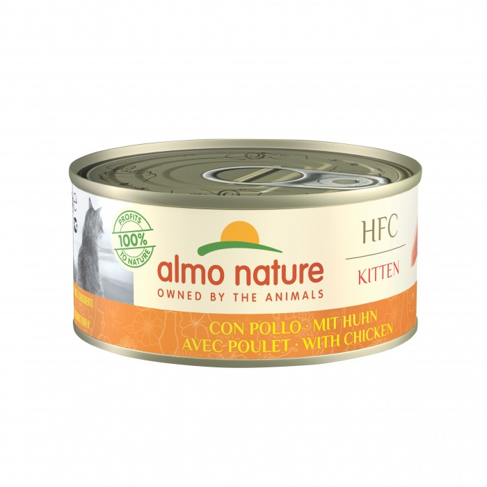 Alimentation pour chat - Almo Nature HFC Kitten - 24 x 150 g pour chats