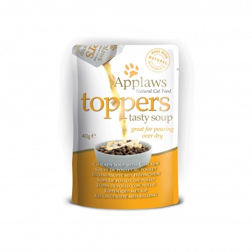 Alimentation pour chat - APPLAWS Toppers soupe pour chats