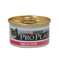 Pâtée en boîte pour chat - Proplan Delicate - Lot 24 x 85g Delicate Sensitive - Lot 24 x 85g