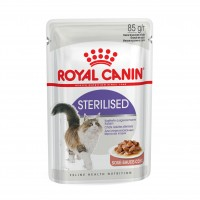 Sachet fraîcheur pour chat - Royal Canin Sterilised Sterilised - Lot 12 x 85 g