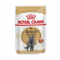Sachet fraicheur pour chat - ROYAL CANIN British Shorthair Adult sauce