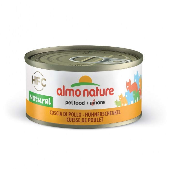 Alimentation pour chat - Almo Nature HFC Natural - 6 x 70g pour chats