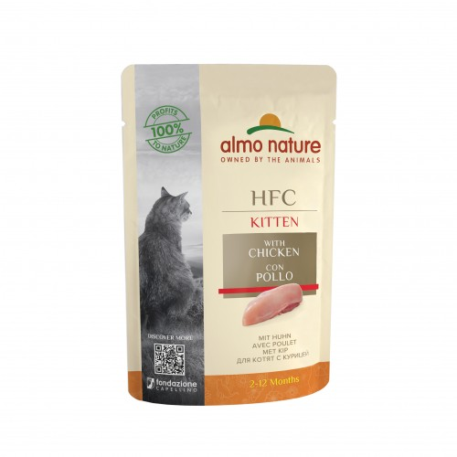 Alimentation pour chat - Almo Nature HFC Kitten - 24 x 55g pour chats