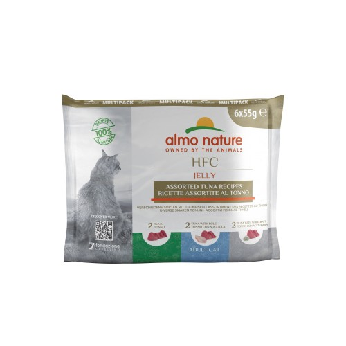 Alimentation pour chat - Almo Nature HFC Jelly - Lot 6 x 55 g pour chats