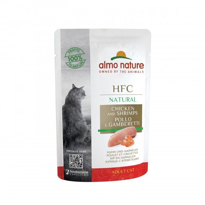 Alimentation pour chat - Almo Nature HFC Natural - 24 x 55 g pour chats