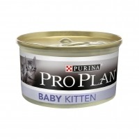 Mousse pour chaton - Proplan Baby Kitten - Lot 24 x 85g Baby Cat Mousse Poulet 24x85g