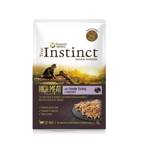 Alimentation pour chat - True Instinct High Meat pour chats