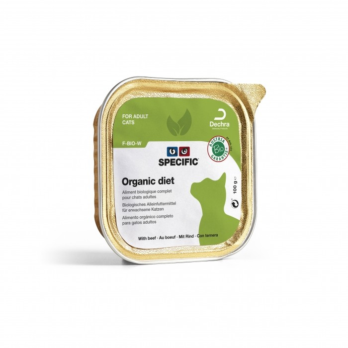 Alimentation pour chat - SPECIFIC™ BIO Organic Diet - Lot 7 x 100g pour chats