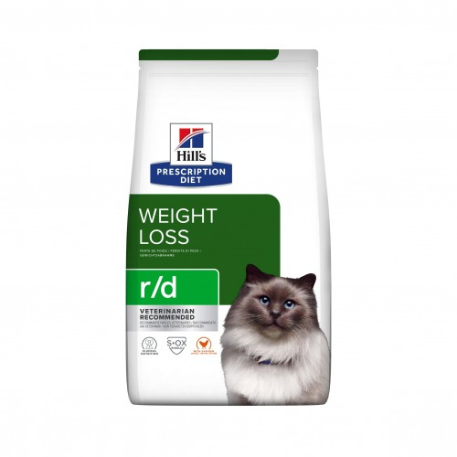 Alimentation pour chat - Hill's Prescription Diet r/d Weight Reduction - Croquettes pour chat pour chats