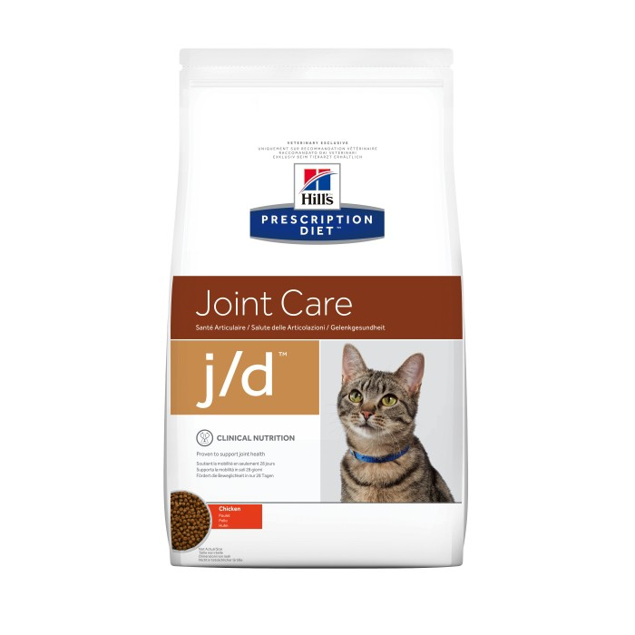 Alimentation pour chat - Hill's Prescription Diet j/d Joint Care - Croquettes pour chat pour chats