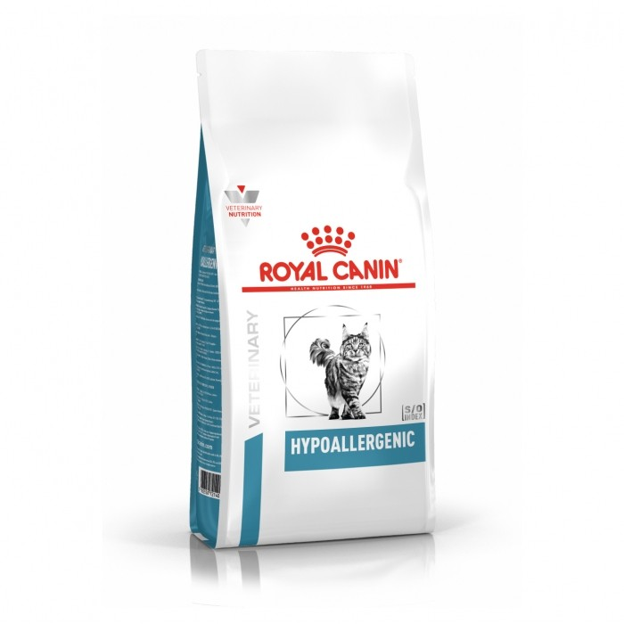Alimentation pour chat - Royal Canin Veterinary Hypoallergenic pour chats