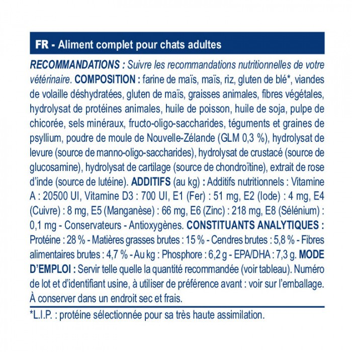 Alimentation pour chat - Royal Canin Veterinary Mobility pour chats