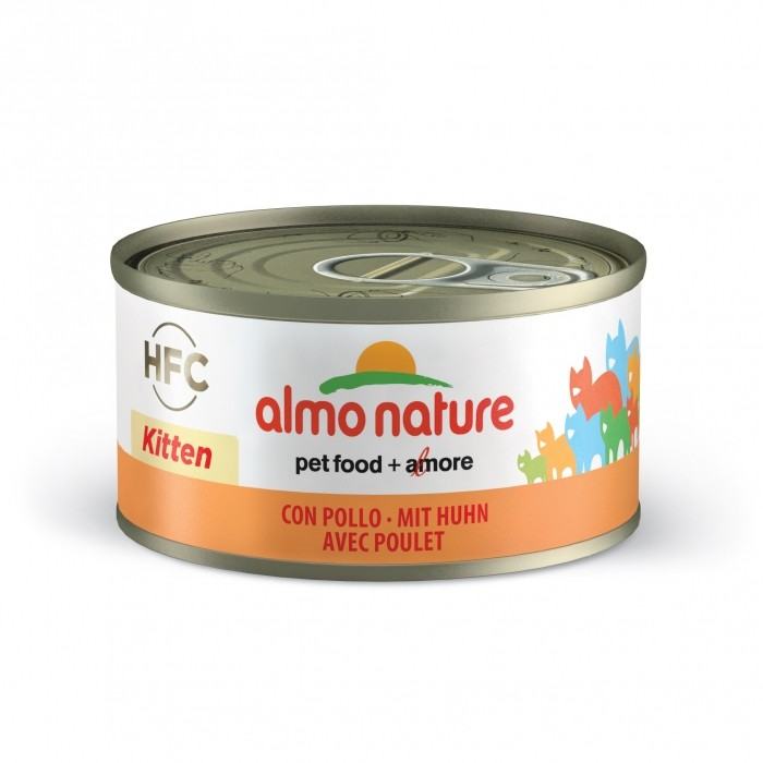 Alimentation pour chat - Almo Nature HFC Kitten - 5 x 70 g pour chats