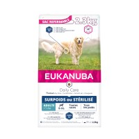 Croquettes pour chien - Eukanuba Daily Care Sterilized & Overweight