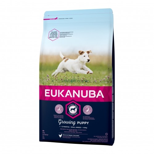 Alimentation pour chien - Eukanuba Growing Puppy Small Breed pour chiens