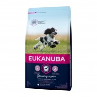 Croquettes pour chien - EUKANUBA Growing Puppy Medium Breed - Poulet