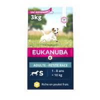 Croquettes pour chien - EUKANUBA Active Adult Small Breed - Poulet