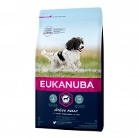 Croquettes pour chien - EUKANUBA Active Adult Medium Breed - Poulet