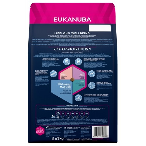 Alimentation pour chien - Eukanuba Thriving Mature Small Breed pour chiens