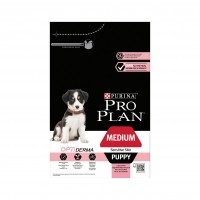 Croquettes pour chien - PURINA PROPLAN Medium Puppy Sensitive Skin OptiDerma Saumon