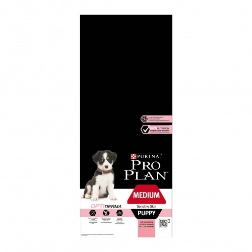 Alimentation pour chien - PURINA PROPLAN Medium Puppy Sensitive Skin OptiDerma Saumon pour chiens