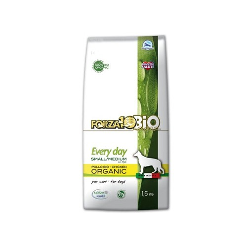 Alimentation pour chien - FORZA 10 Every day bio adult Small & medium poulet pour chiens