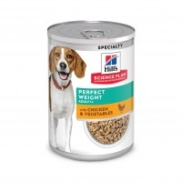 Pâtée en boîte pour chien de plus d'1 an - Hill's Science Plan Perfect Weight Adult Perfect Weight Adult