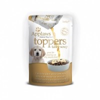 Aliment humide pour chiot - APPLAWS Toppers Soupe Chiot - 3 x 40g Toppers Soupe Chiot - 3 x 40g