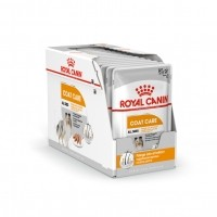 Sachet fraîcheur pour chien - ROYAL CANIN Care Nutrition Coat Care Adulte - Lot 12 x 85g