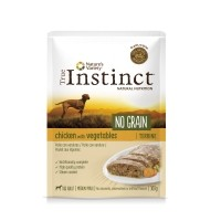 Pâtée en sachet pour chien - True Instinct No Grain - Medium Maxi adult