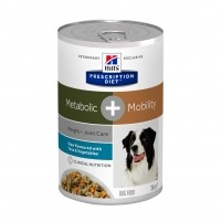 Prescription - HILL'S Prescription Diet Canine Metabolic + Mobility mijoté