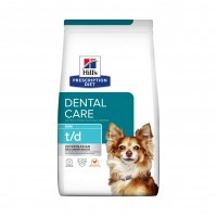 Prescription - Hill's Prescription Diet t/d Mini Dental Care  Canine t/d Mini