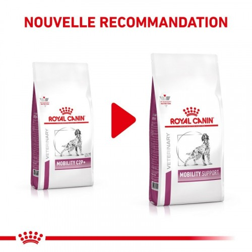 Alimentation pour chien - Royal Canin Veterinary Mobility C2P+ / Mobility Support pour chiens