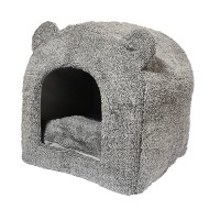 Igloo pour chat et chien - Igloo Teddy Bear Rosewood